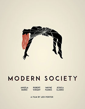 Modern Poster modern society posters graphic design by marchment